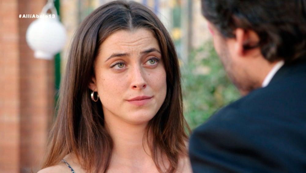 """Azucena rechaza a Jozé """"Ha sido un falso negativo, no me voy a casar con un celador"""""""