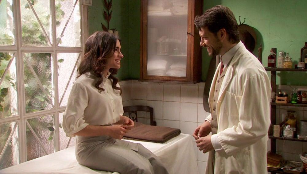 Inés cree que está embarazada