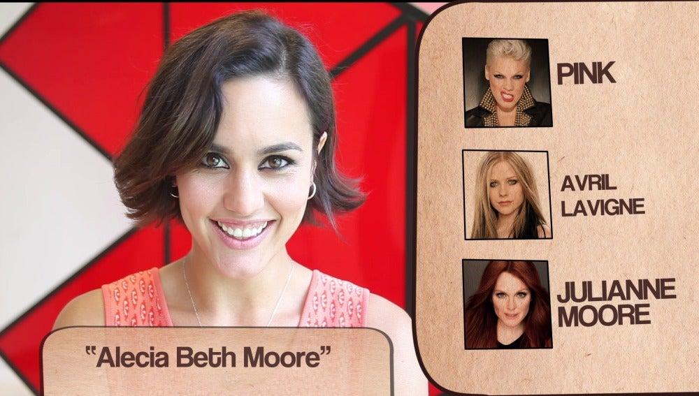 Megan Montaner responde al test de las dobles personalidades