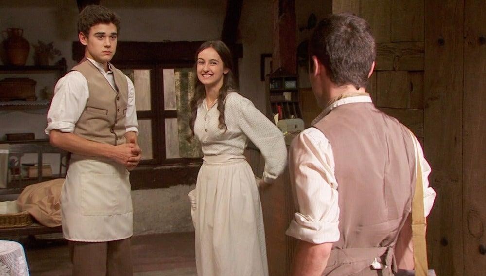 Prado confiesa a Matías su amor por Sixto