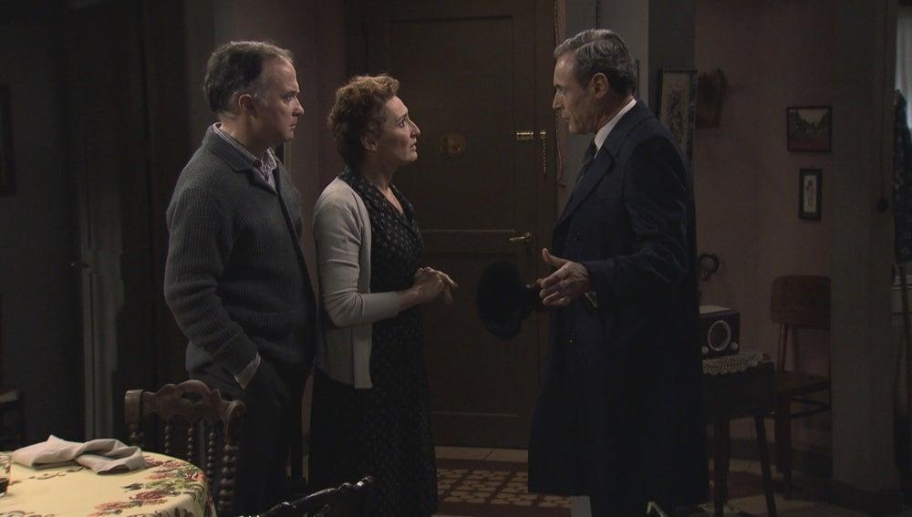 Serafina, Aquilino y Paco