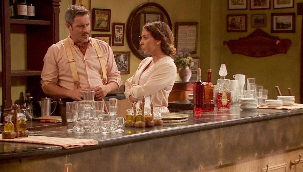 Emilia y Alfonso, preocupados por Matías
