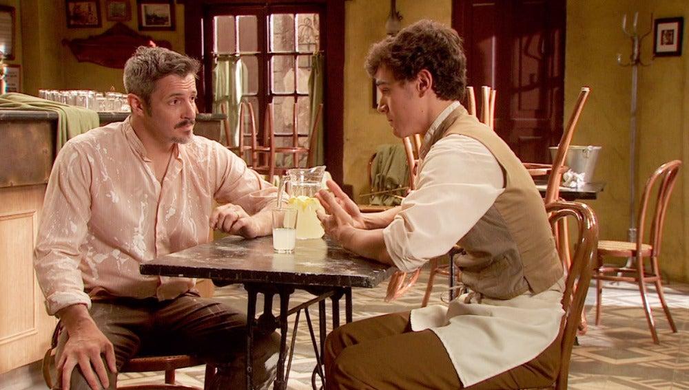 Matías se sincera con Alfonso sobre Prado
