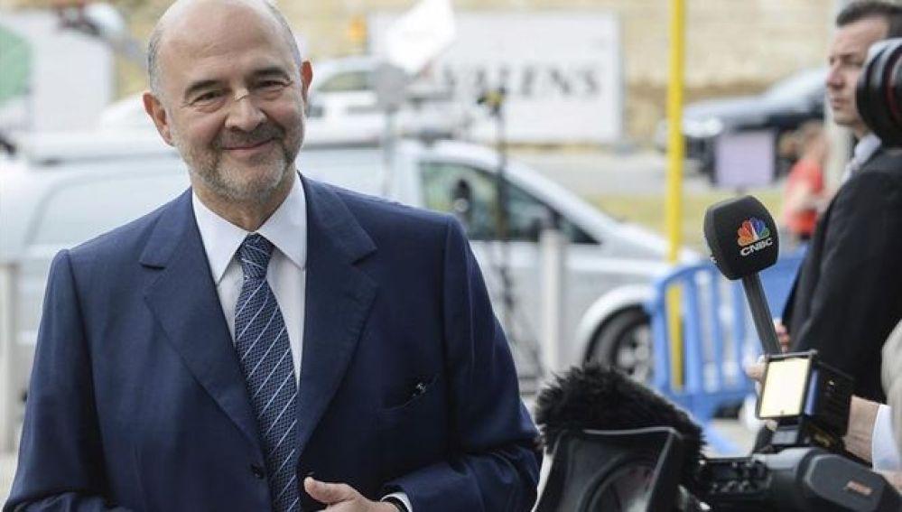 El Eurocomisario Pierre Moscovici