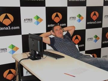 Roberto Brasero durante el encuentro digital
