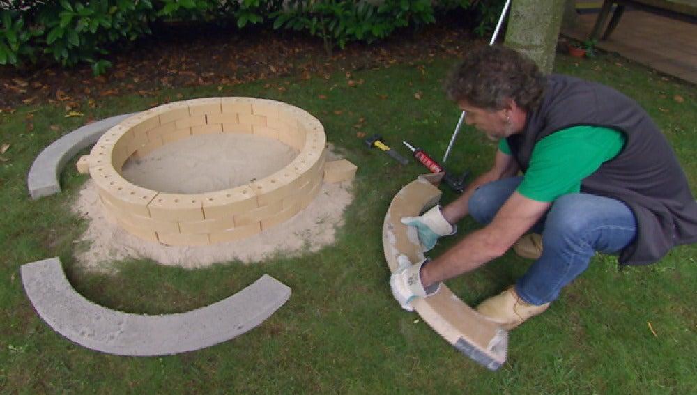 Bricomanía, construcción de una barbacoa circular