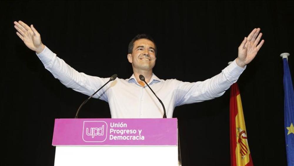 Andrés Herzog, elegido nuevo portavoz de UPyD