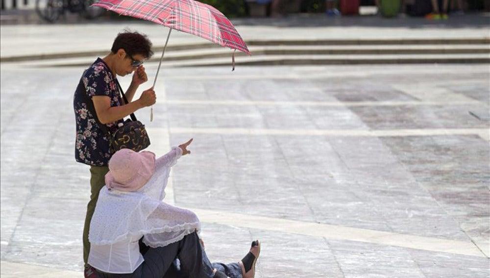 La ola de calor deja un muerto en Sevilla