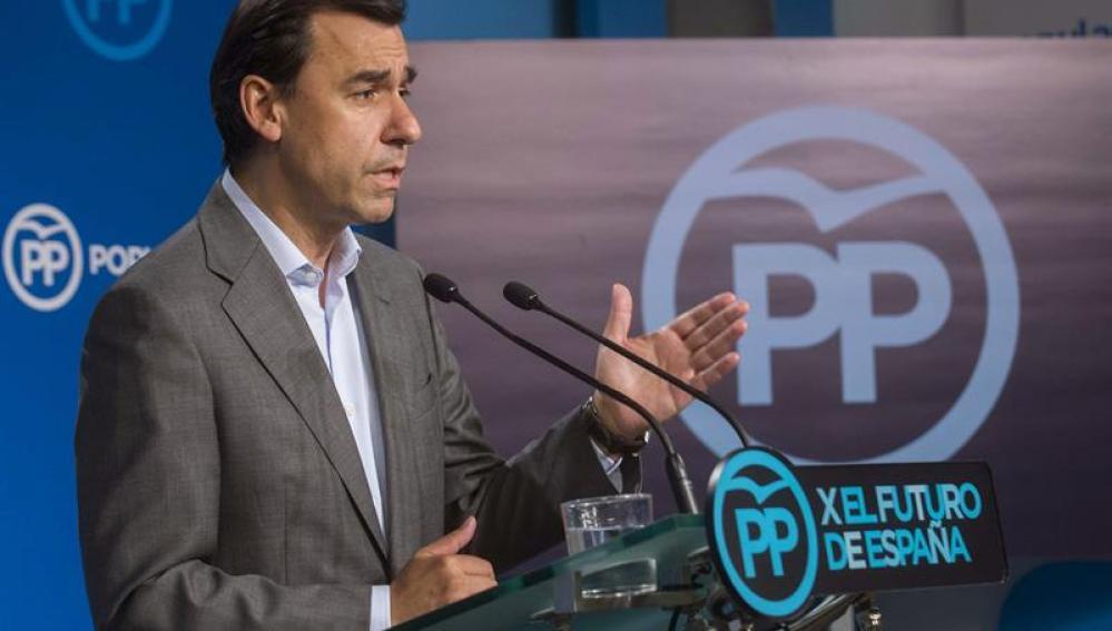 Fernando Martínez-Maillo, anunciando reforma electoral