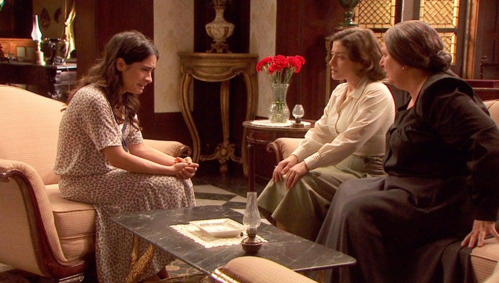 Inés confiesa en el Jaral su enfermedad