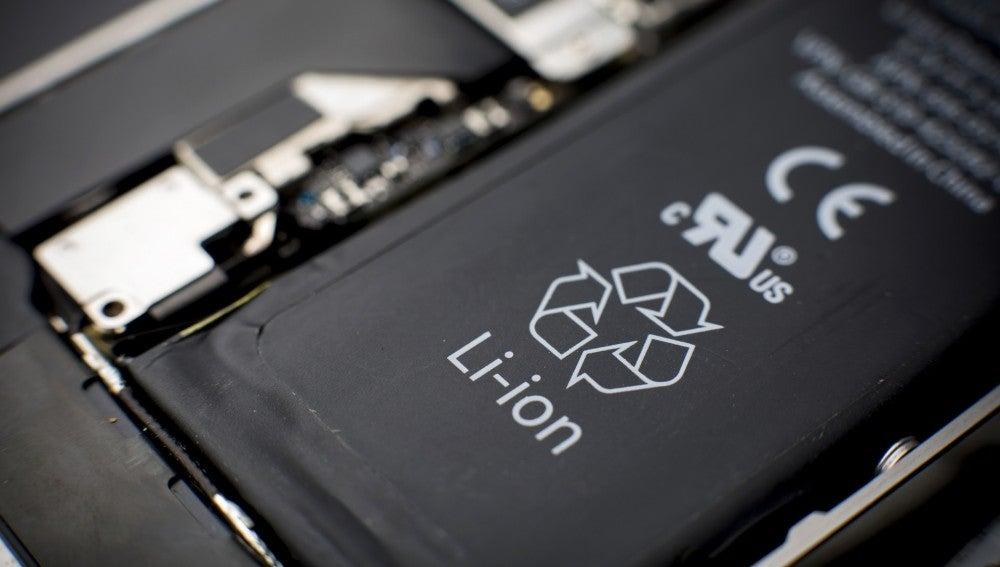 Batería de un teléfono móvil