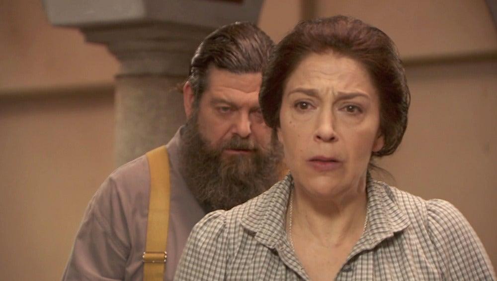 Francisca, humillada de nuevo: Severo le envía su reloj