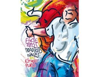 'A centímetros', el cartel elegido para anunciar los encierros de Sanse 2015
