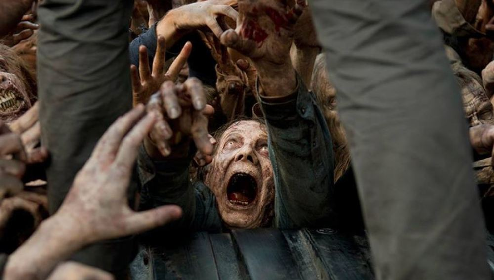 Los zombies de la sexta temporada de 'The Walking Dead'