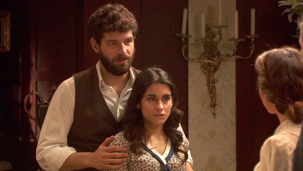 Inés organiza una reunión en el Jaral para contar qué le sucede
