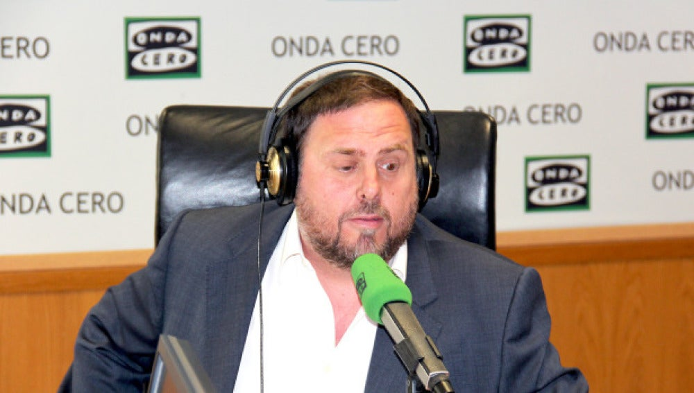 Oriol Junqueras, entrevista en Onda Cero