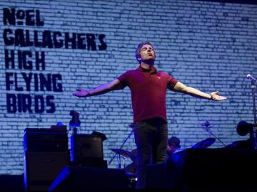 Noel Gallagher conquistó al público con temas de su antigua banda Oasis