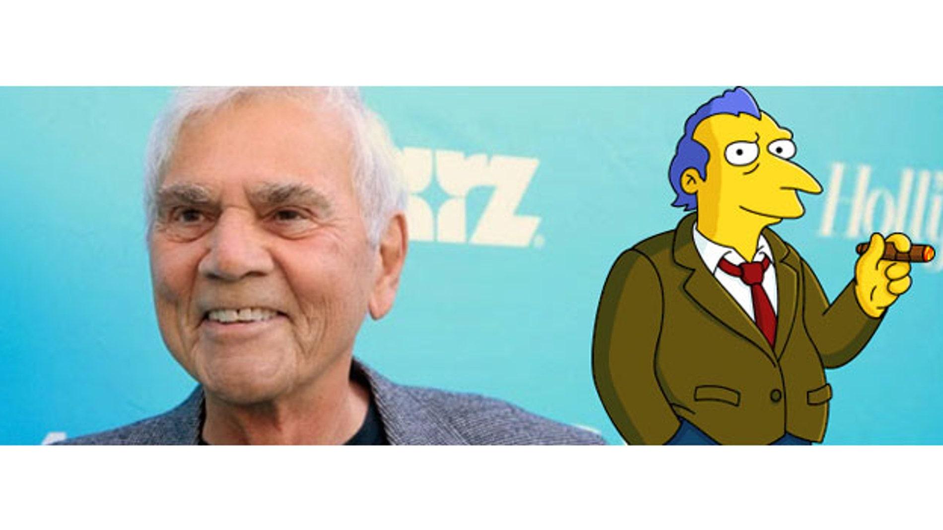 Alex Rocco, Roger Meyers Jr. en 'Los Simpson'