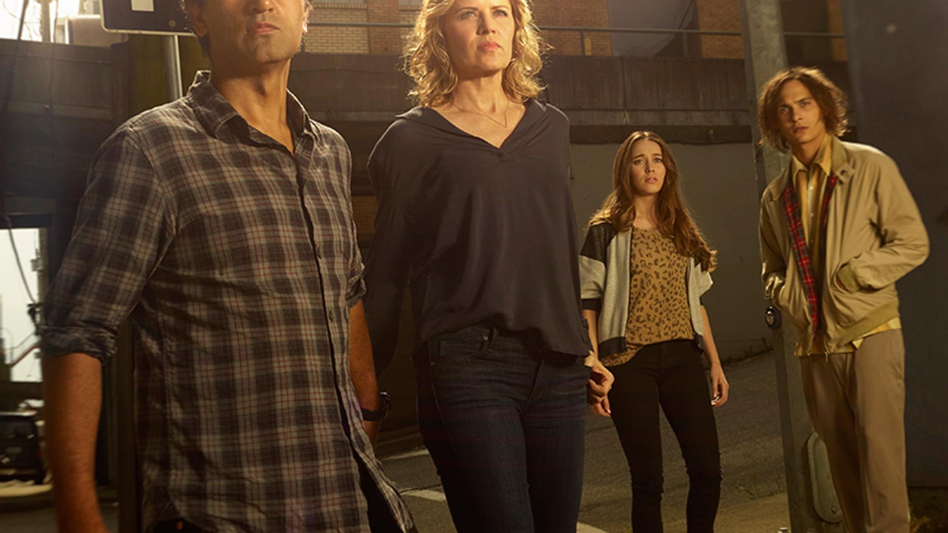la familia protagonista de 'Fear The Walking Dead'