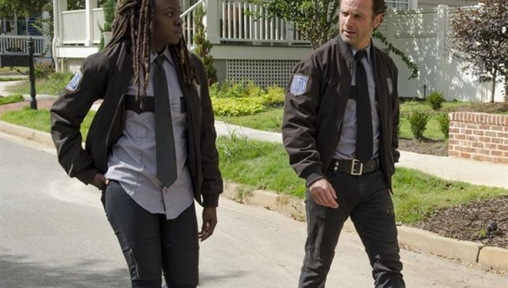 Escena inédita de la quinta temporada de 'The Walking Dead'