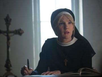 Lily Rabe, la hermana Mary Eunice en  'American Horror Story: Freak Show'