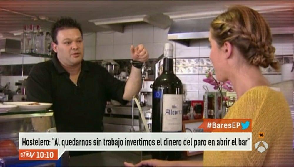 Antena 3 tv repunta el consumo en los bares tras a os de for Espejo hostelero