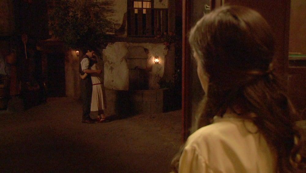 Prado, celosa al ver a Matías con una chica