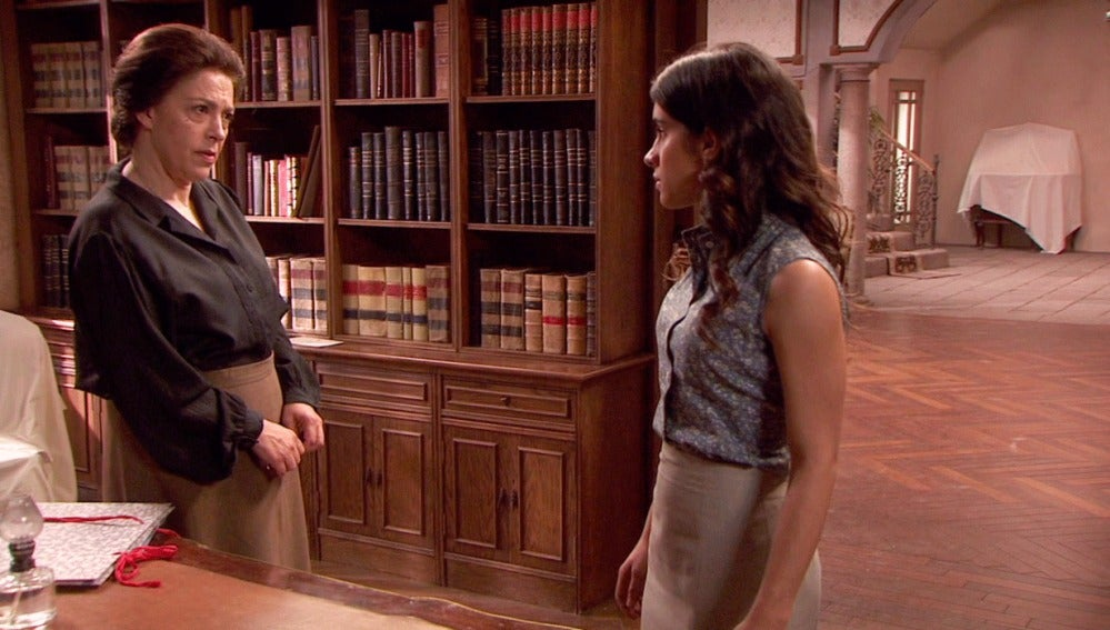 """Inés se presenta en La Casona: """"Vengo a mostrarle toda mi repulsa"""""""