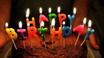 Tarta cumpleaños 'Happy Birthday'