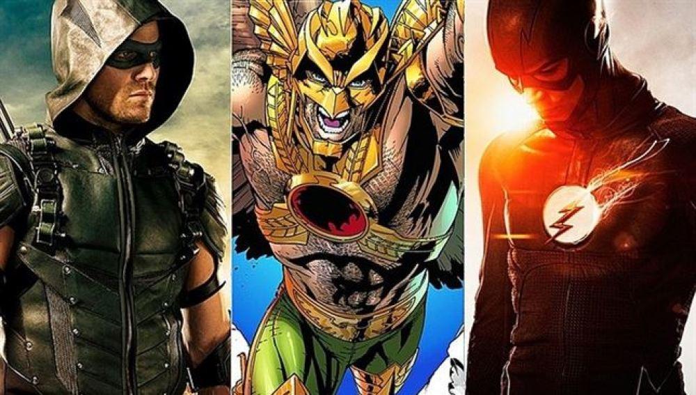 Arrow, Hawkman y The Flash