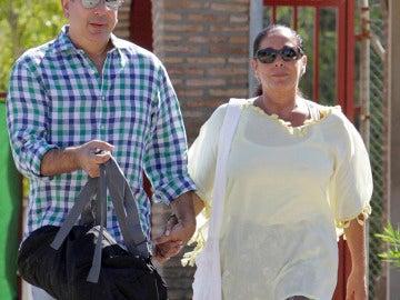 Isabel Pantoja en su segunda salida penitenciaria