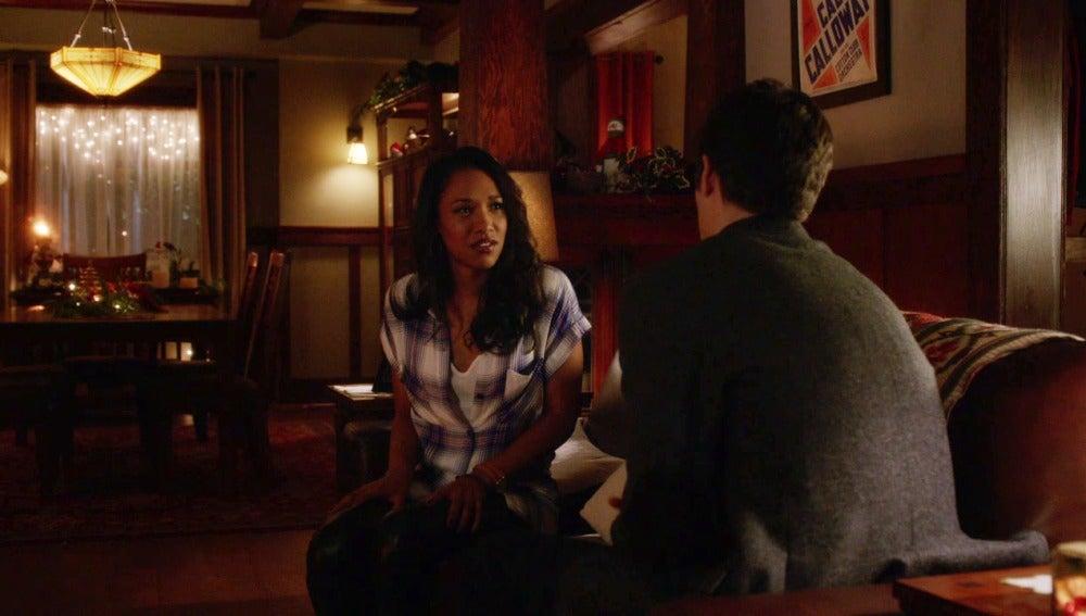 Barry declara su amor a Iris