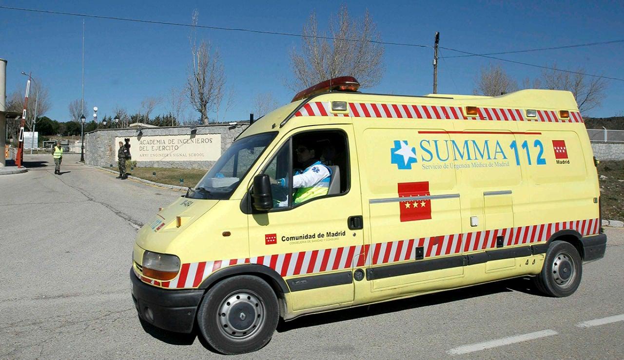 Ambulancia de los Servicios de Emergencias de Madrid