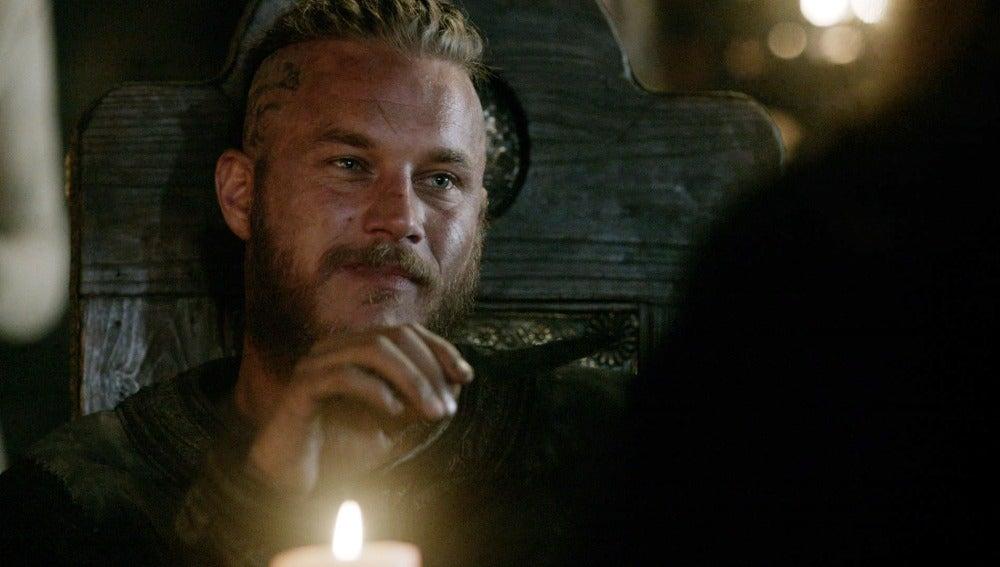 El rey Horik vuelve a Kattegat con una propuesta sorprendente para Ragnar.