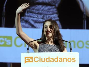 Inés Arrimadas, candidata de Ciudadanos a las elecciones del 27-S