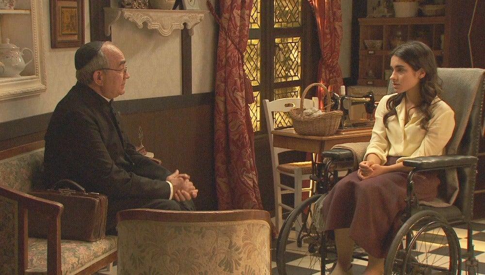 Inés pedirá a Don Anselmo confesarse