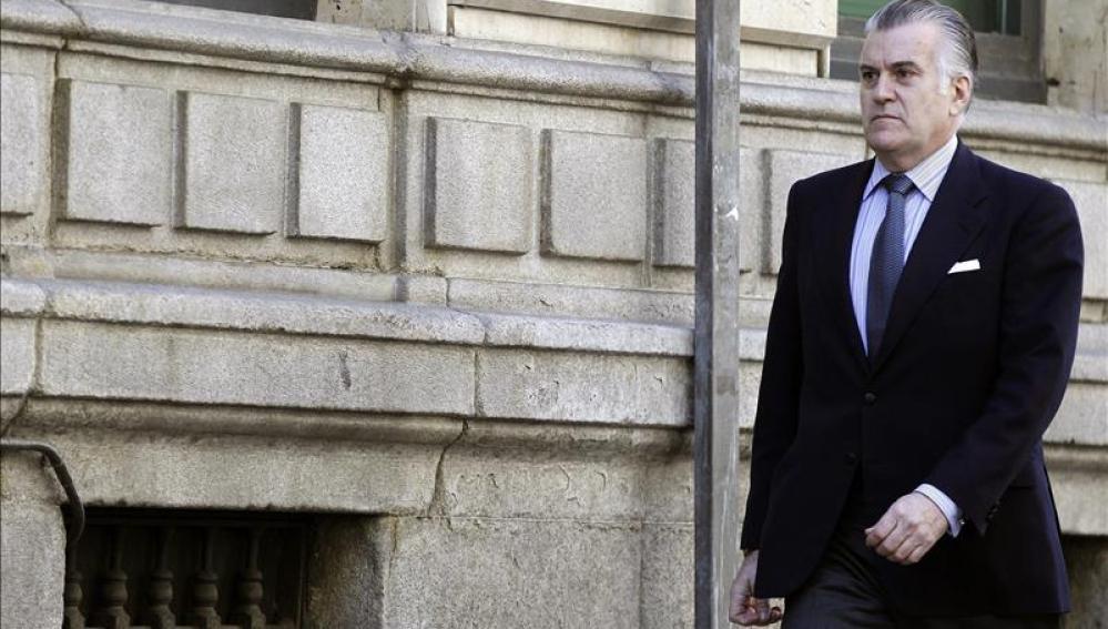El ex tesorero del PP Luis Bárcenas