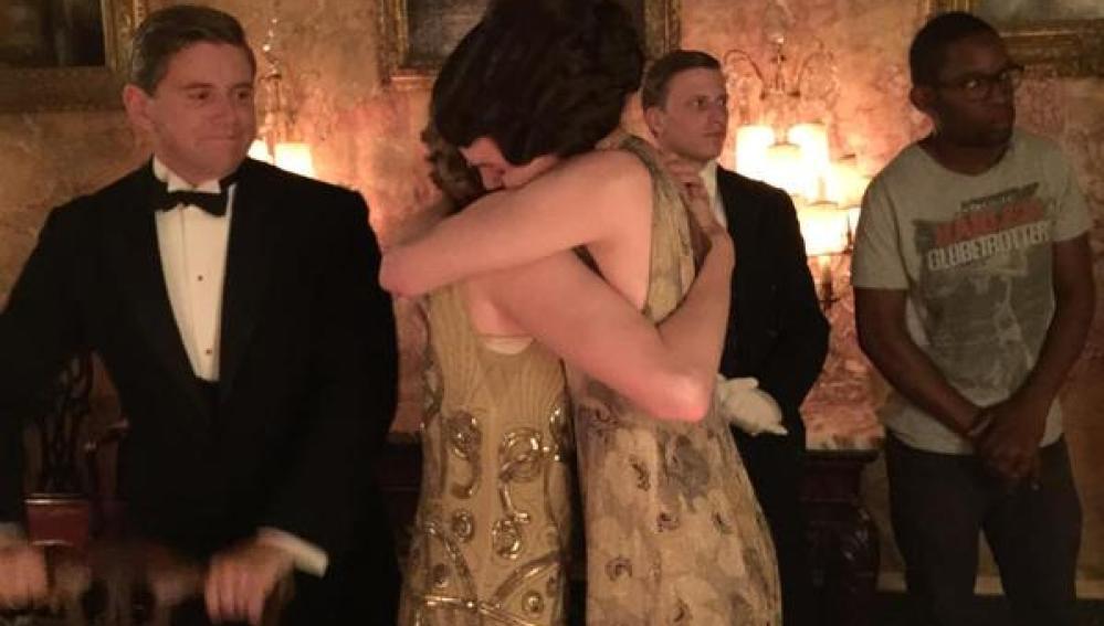 Los actores de 'Downton Abbey' disfrutan de los últimos momentos de la serie