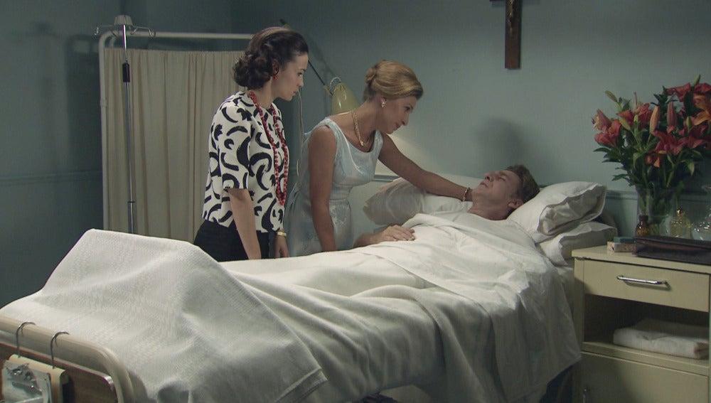 Laura, Encarna y Víctor