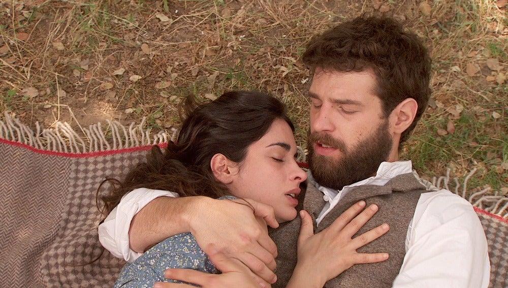 Inés muere en brazos de Bosco