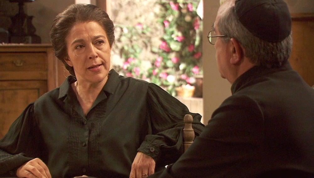 Puente Viejo C1135 - Don Anselmo recrimina a Francisca su actitud