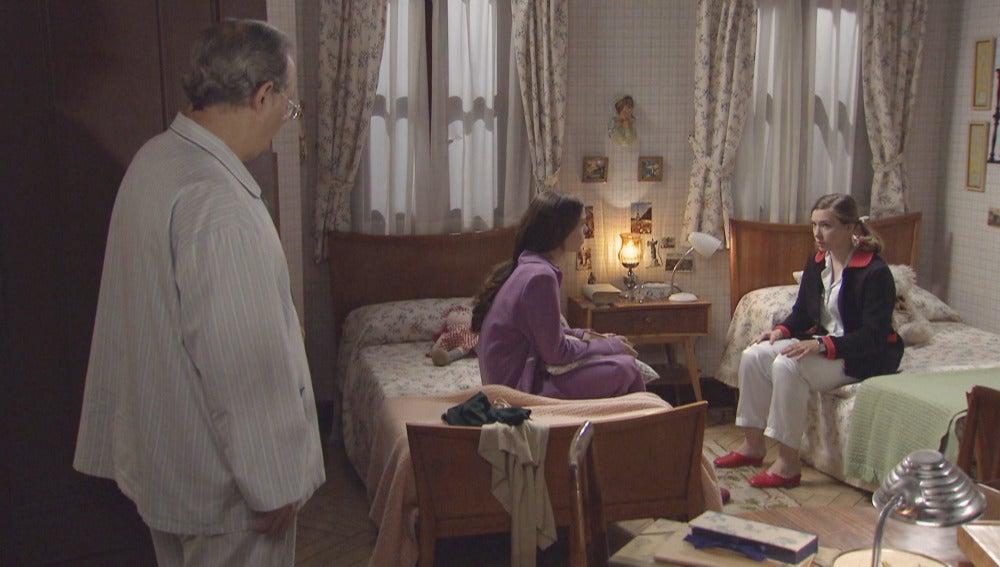 Leonor, María y Pelayo