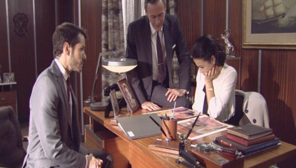 Aquilino, Miguel y Laura