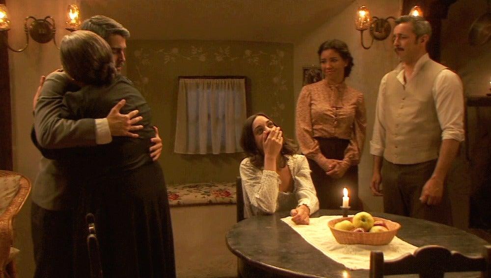 Los Castañeda reciben entre lágrimas a Ramiro