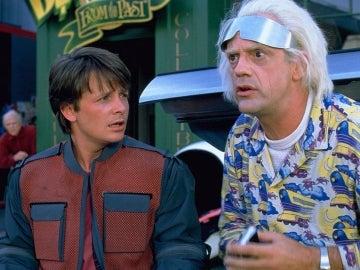 McFly y Doc en 'Regreso al futuro II'