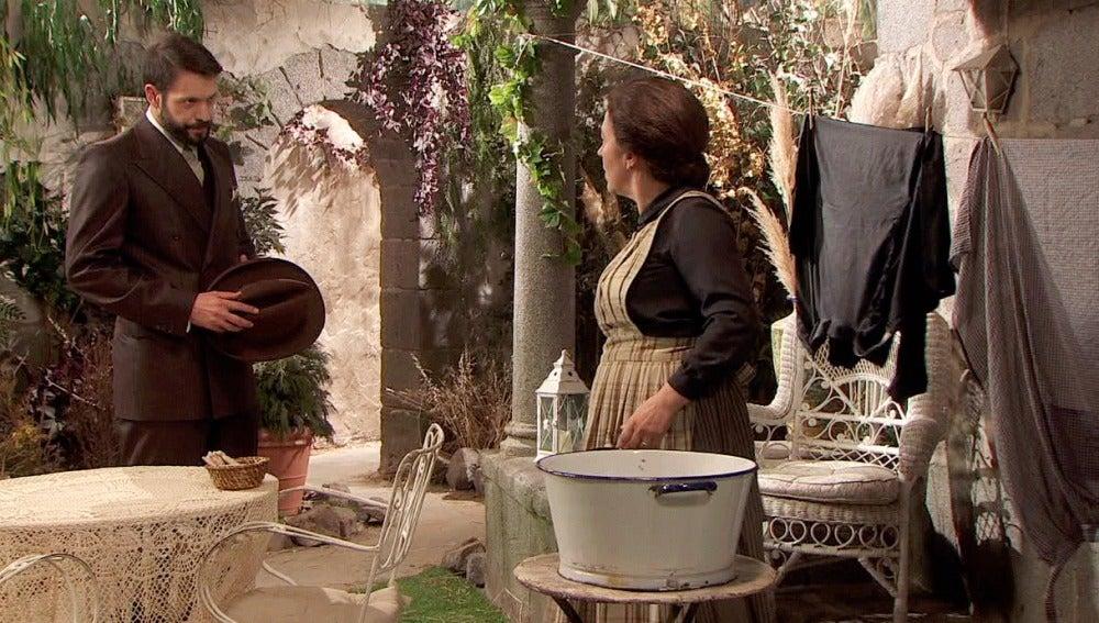 Severo amenaza a Francisca con endurecer su venganza si se acerca a Bosco