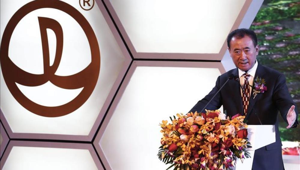 El magnate y propietario del gigantesco conglomerado empresarial Wanda, Wang Jianlin