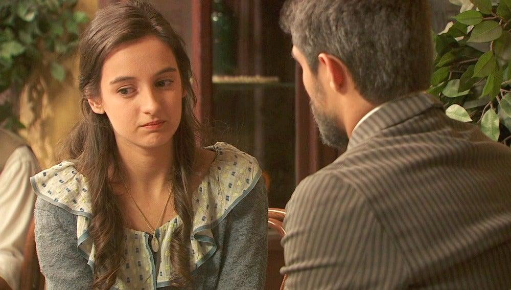 Ramiro habla a Prado sobre su madre