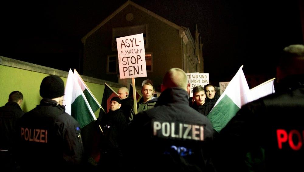 Miembros del NPD en Alemania