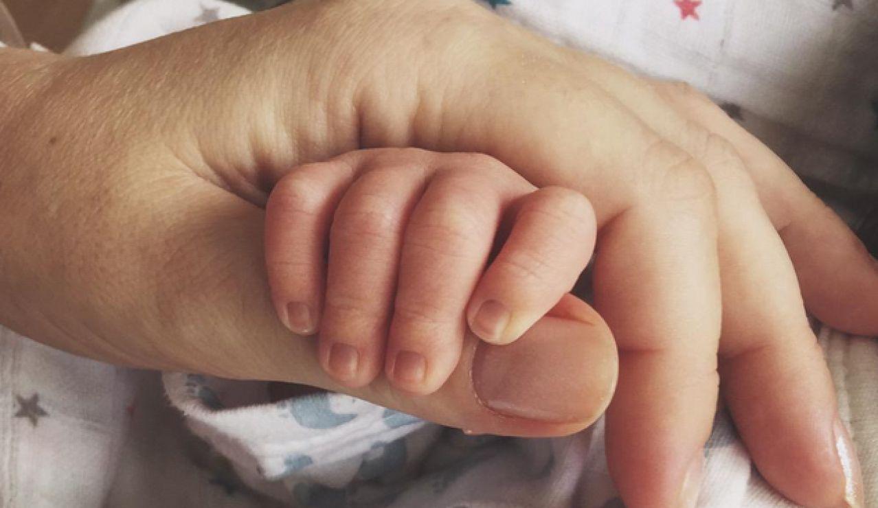 La mano del bebé